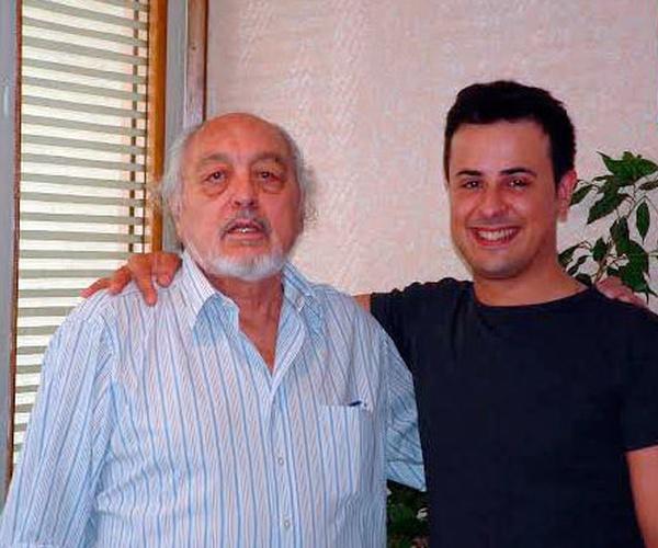 De izquierda a derecha: Joaquin Grau Creador de Anatheoresis y Rubén Rosa Palacios, terapeuta especialista en Anatheoresis