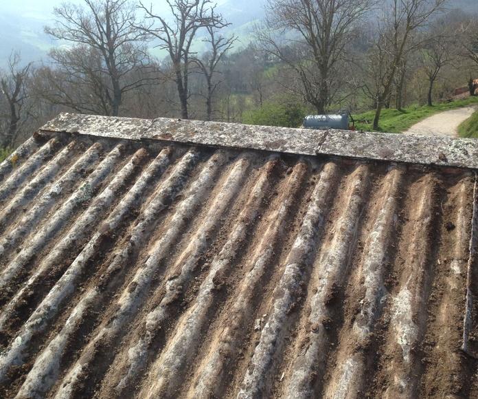 Reparación de tejados de uralita con bajo coste