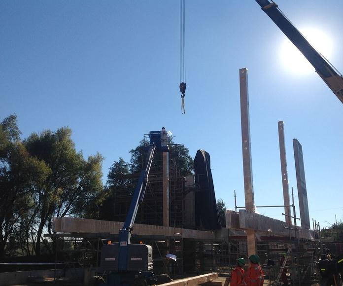 Construcción edificio corporativo CMPC
