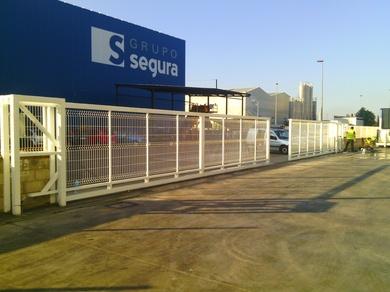 Puertas Correderas Automáticas Industriales hueco de 20 metros