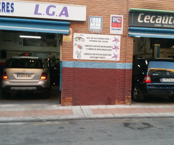 Mecánica rápida: Servicios de Talleres LGA