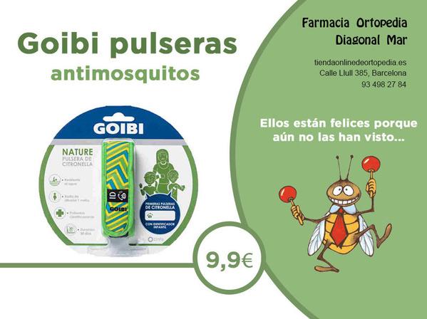 goibi pulseras antimosquitos