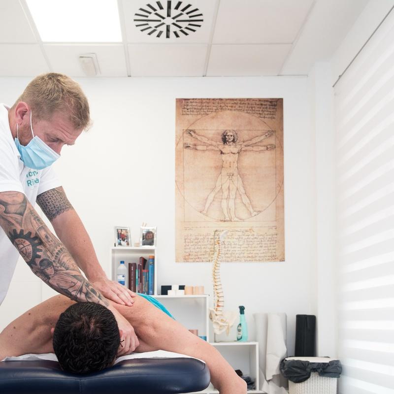 Fisioterapia: Servicios de Clínica Tomás Ribera