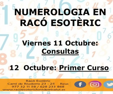 Numerologia Octubre Raco Esoteric