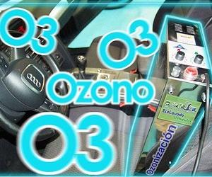 El Gato Azul Ecolavado - Desinfección interior con ozono
