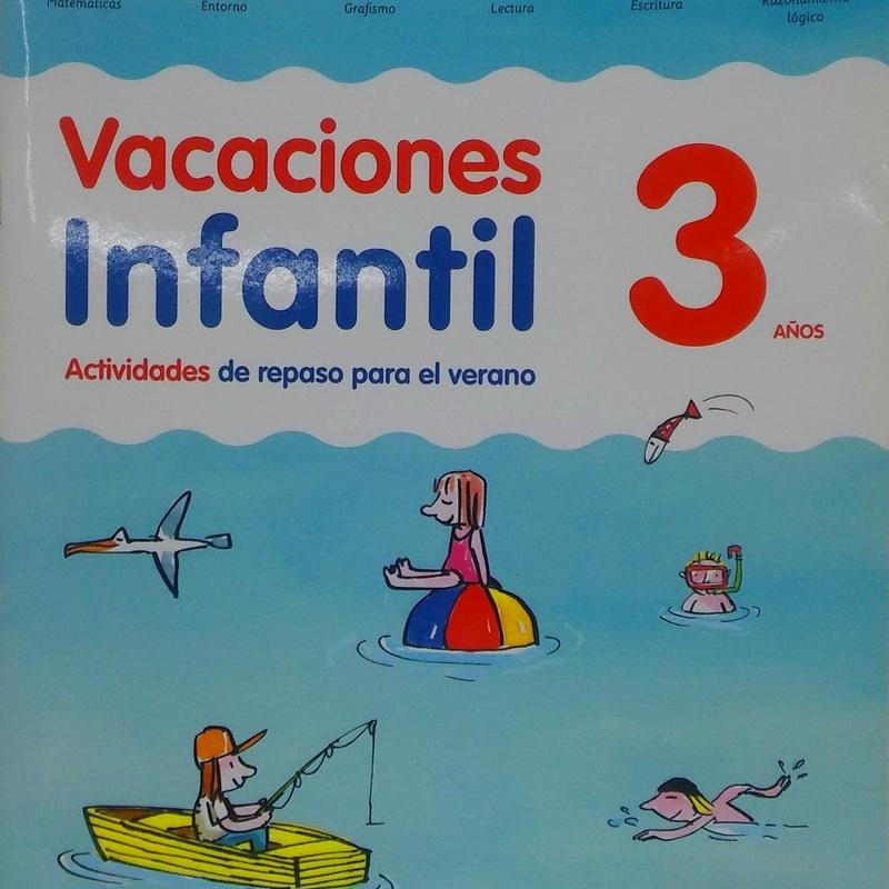 VACACIONES INFANTIL 3 AÑOS. SANTILLANA
