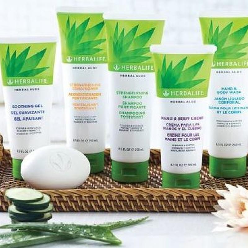 Línea Herbal Aloe: Productos de Centro de Bienestar y Nutrición