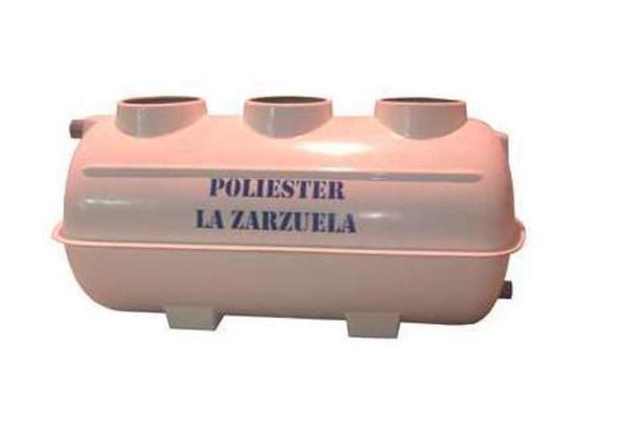 Fosa séptica con filtro biológico: Catálogo de productos de Poliéster La Zarzuela
