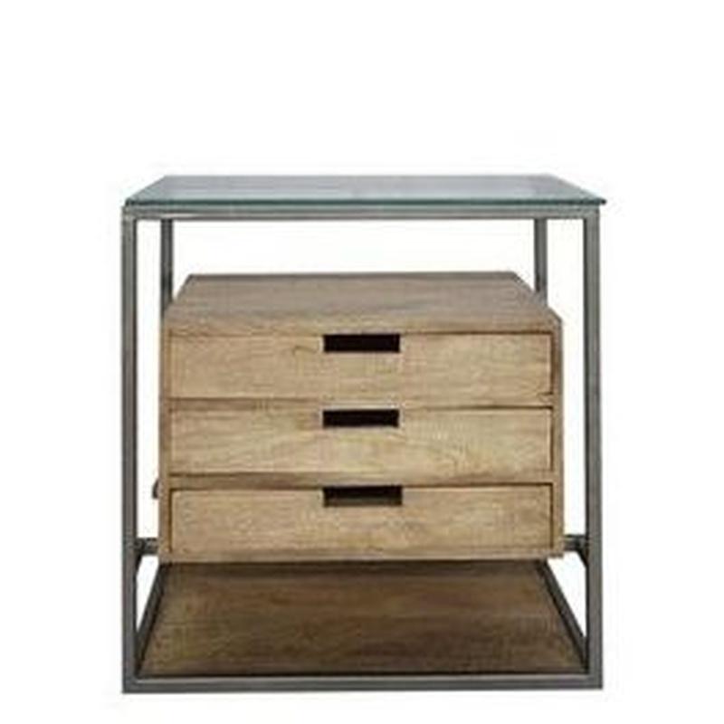 Comoda hierro y madera AD-PGDR5: Catálogo de Ste Odile Decoración