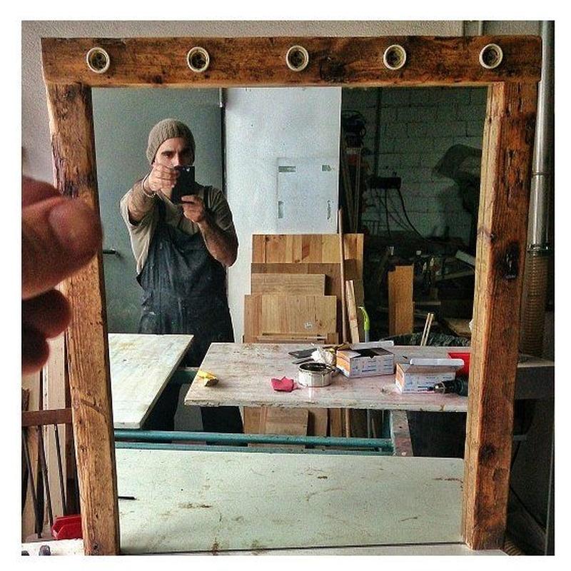 PFF. 040 · Espejo Antic: Muebles de Paletto´s Furnature