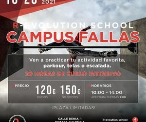 CAMPUS DE FALLAS EN VALENCIA POR R-EVOLUTION SCHOOL