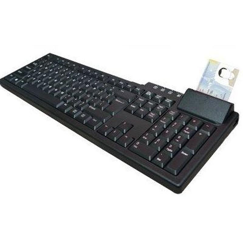 BIT4ID Teclado con Lector EVO Smartcard DNI : Productos y Servicios de Stylepc