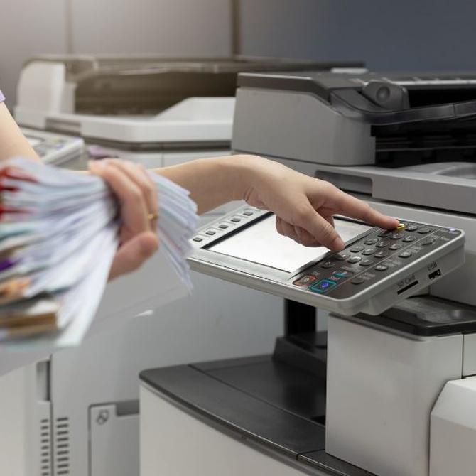 Fotocopias e impresiones a todo color