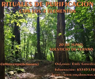 Rituales de Purificación con los 4 Elementos.