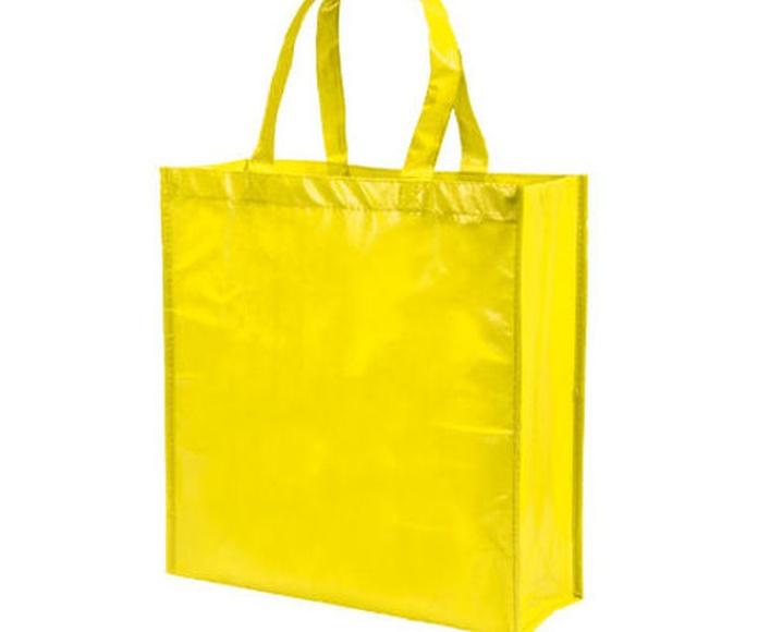 Bolsa tejido sin tejer DIVIA amarilla