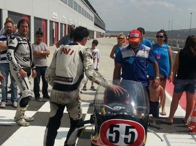 1º clasificados en el campeonato de Castilla la Mancha de motociclismo