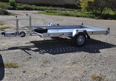 Plataforma basculante coches pequeños