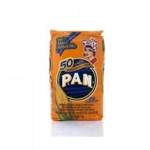 Harina pan amarilla: PRODUCTOS de La Cabaña 5 continentes