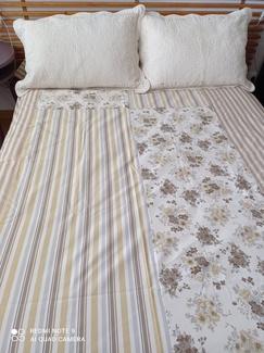 Colchas forradas cama 90