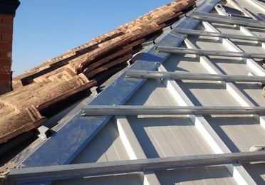 Estructuras de tejado