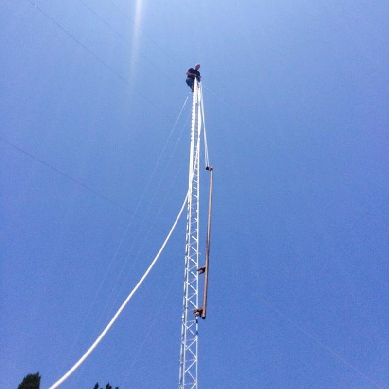 Montaje de torres de telecomunicaciones: Servicios de Ansate Telecomunicaciones