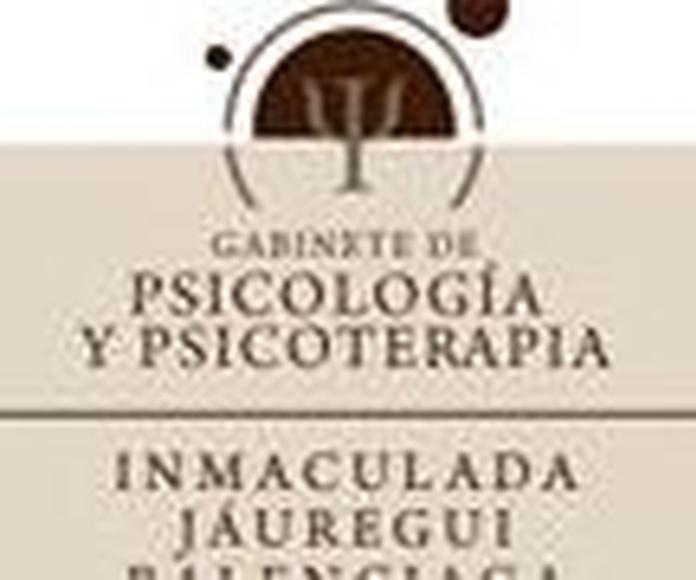 Especialidades: Terapias de Psicología y Psicoterapia - Dra. Inmaculada Jáuregui