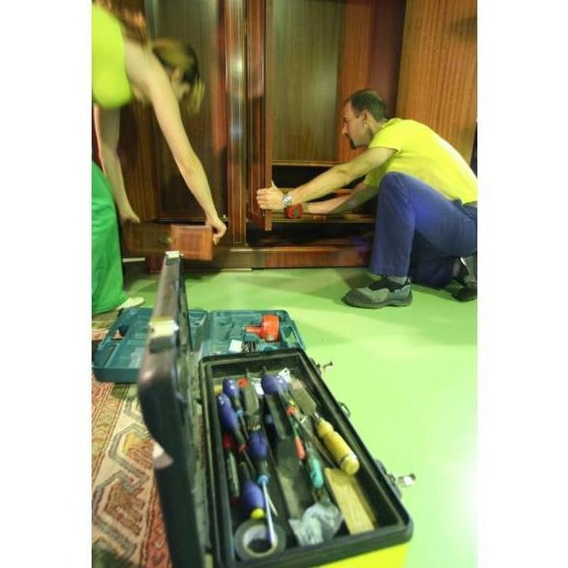 Montaje y desmontaje de muebles: Servicios de Montrans
