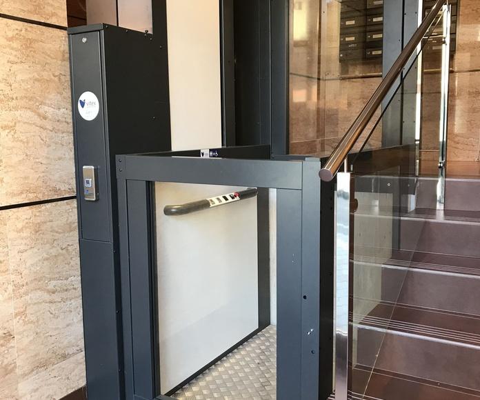 ACCESIBILIDAD - Instalación de salvaescaleras: Servicios de Vitex Ascensores
