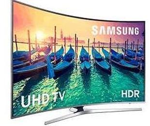 Televisor UHD curvo de Samsung de 65'' LED
