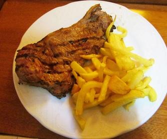 Pescados y mariscos: Carta de Restaurante Cabañeros