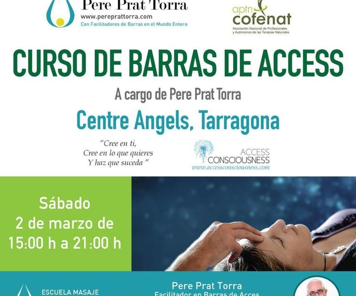 Masajes terapéuticos Tarragona, Terapias alternativas Tarragona, Escuela de masajes Tarragona