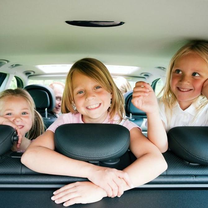 Cómo viajar con los niños en taxi
