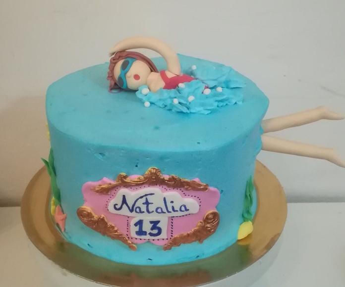 tarta nadadora