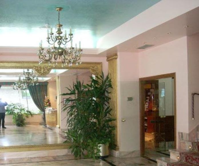 Situación del hotel : Servicios de Hotel Estadio