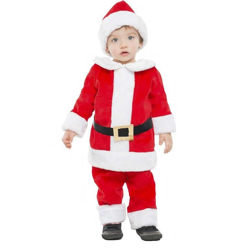 Disfraz Papá Noel bebé Luxe