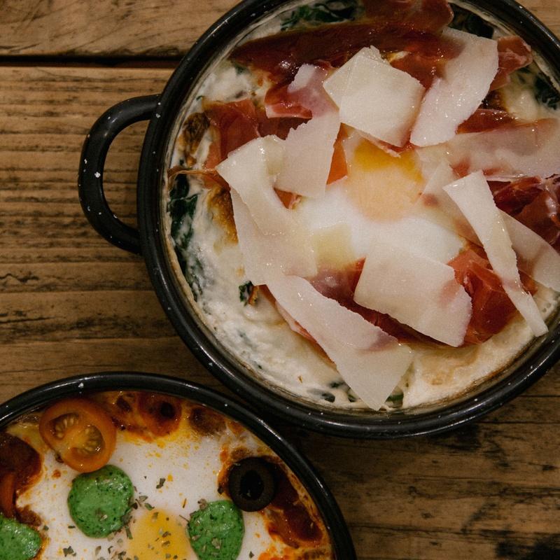 Huevos a la cazuela: MENÚ de Plenti
