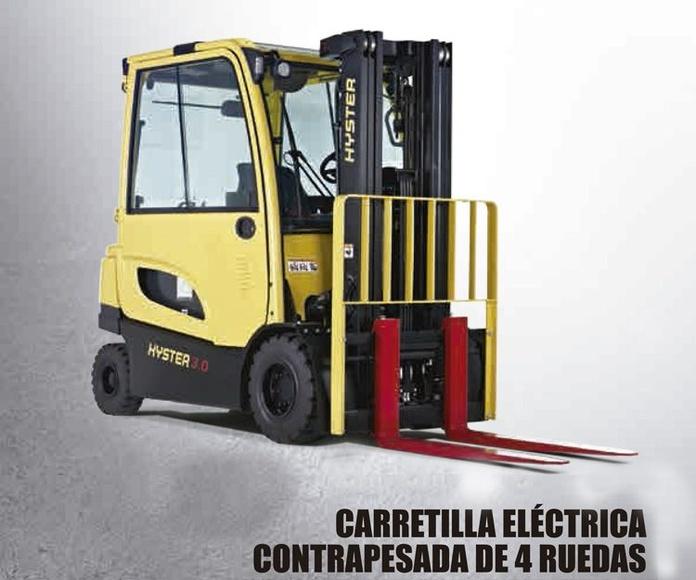 Carretillas elevadoras eléctricas contrapesadas de 4 ruedas (J2.2-3.5XN): Productos y servicios  de Intzia Comercial