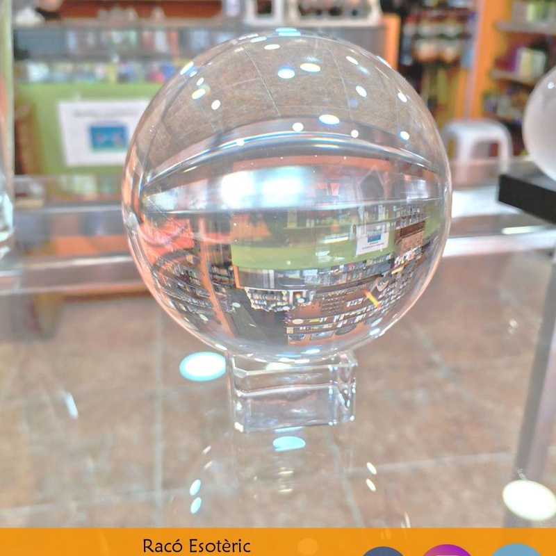 Bola de Cristal: Cursos y productos de Racó Esoteric Font de mi Salut