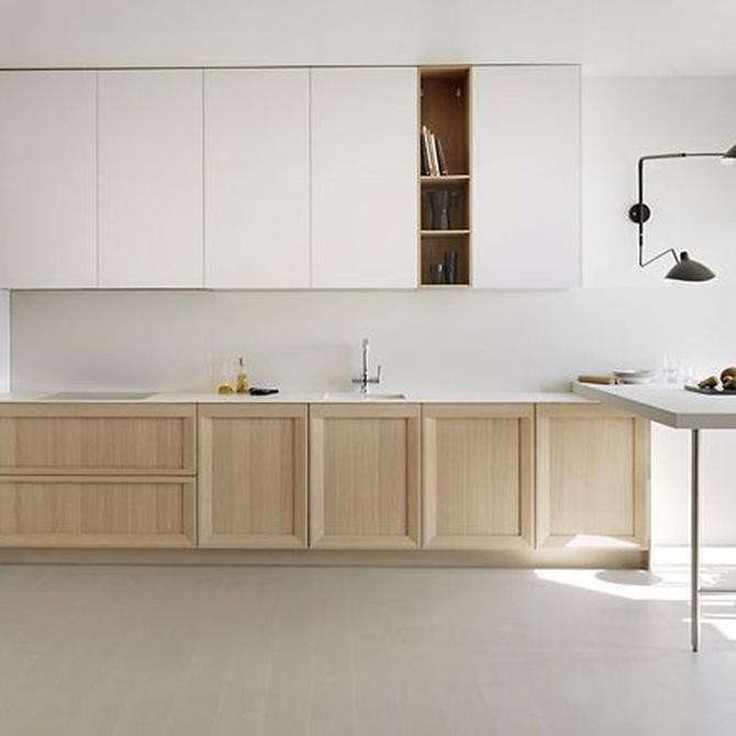 Aprovecha al máximo el espacio de tu nueva cocina