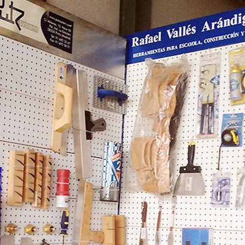 Almacén de materiales para el escayolista en Mérida