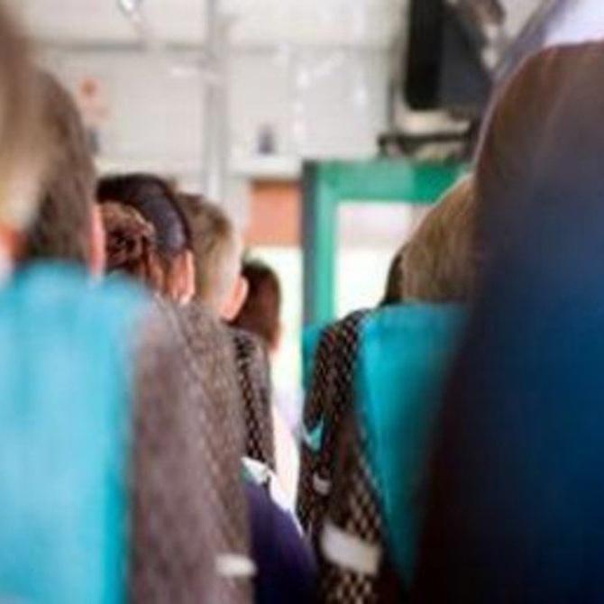 Medidas de seguridad en el transporte escolar