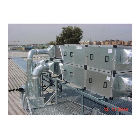 Extracción de gases y humos: Servicios  de Climaser 2000