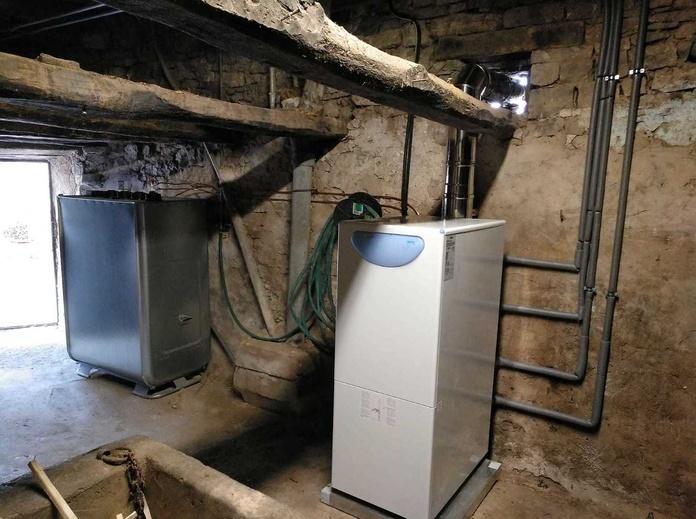 Instalación de calefacción de gasoil Pamplona
