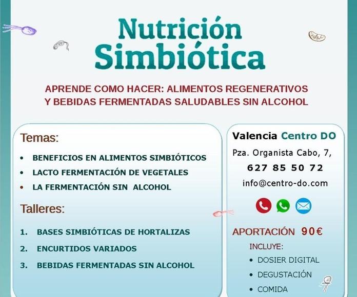 Curso de Nutrición Simbiótica con Ander Urederra. Sábado 30 de Marzo de 2019.
