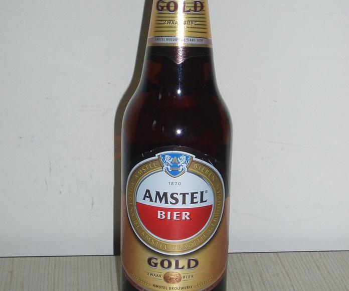 Amstel Oro: En nuestro local de Cervecería Ca'Melán