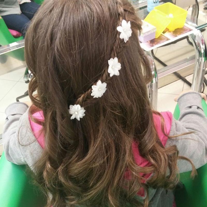 Peinados para niñas de primera comunión