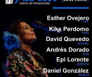 Esther Ovejero cierra la temporada de jazz del Café Teatro Rayuela