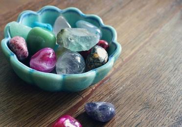 Piedras, cristales y minerales