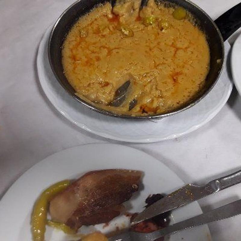 Platos manchegos: Carta de Restaurante La Parrilla