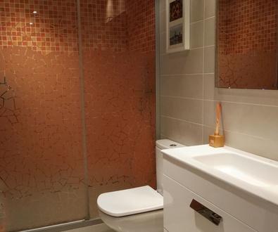 Decoración : Suelo de baño con revestimiento LevelColor